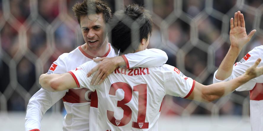 Martin Harnik traf gegen den SC Freiburg doppelt.