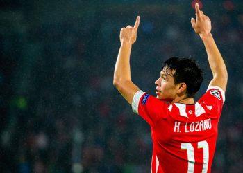 Hirving Lozano zockt beim PSV Eindhoven groß auf.