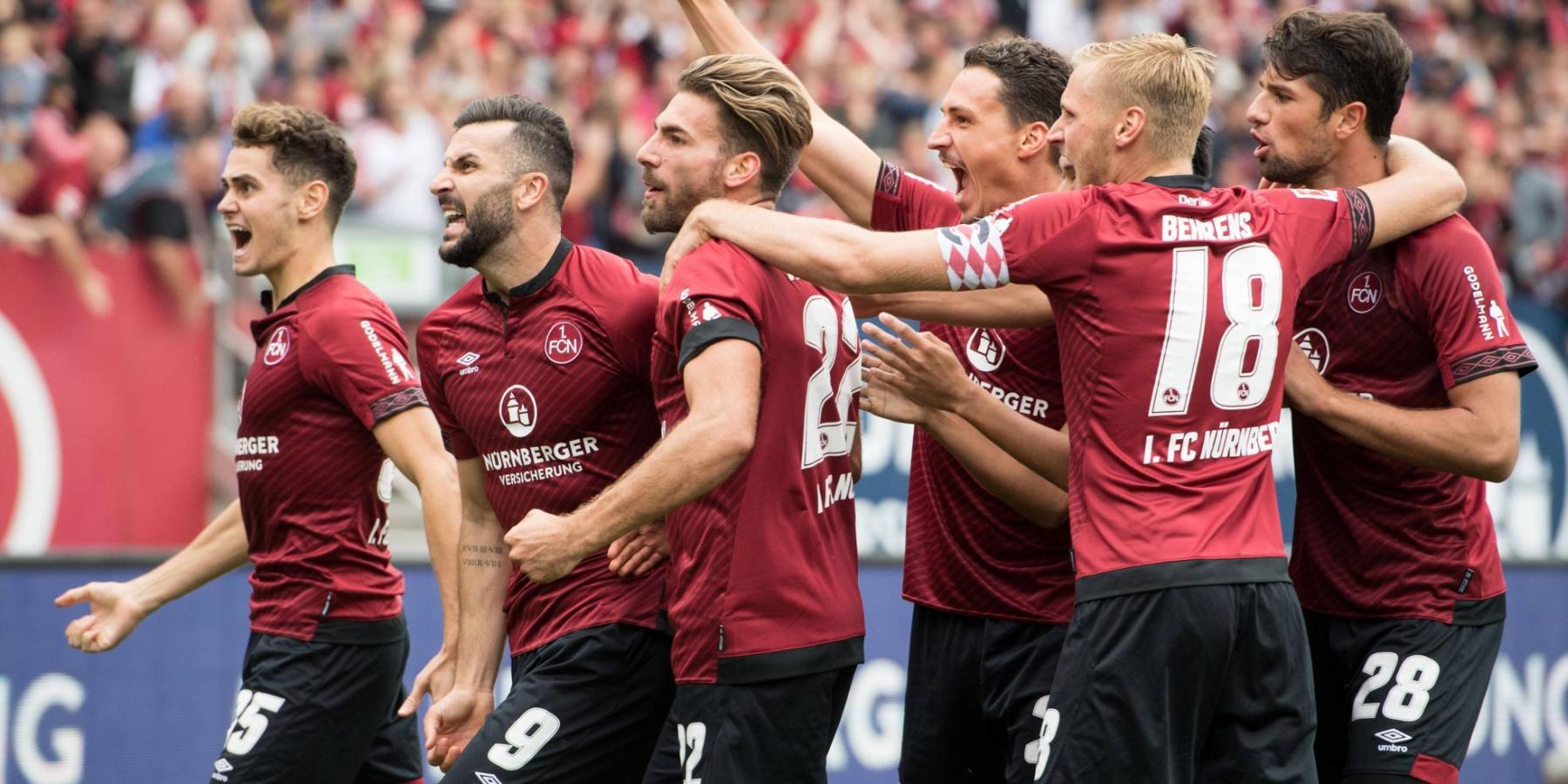 Der 1. FC Nürnberg feiert seinen ersten Saisonsieg