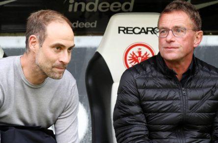 Ralf Rangnick und Olaf Mintzlaf müssen mit RB Leipzig jetzt die Kurve kriegen.
