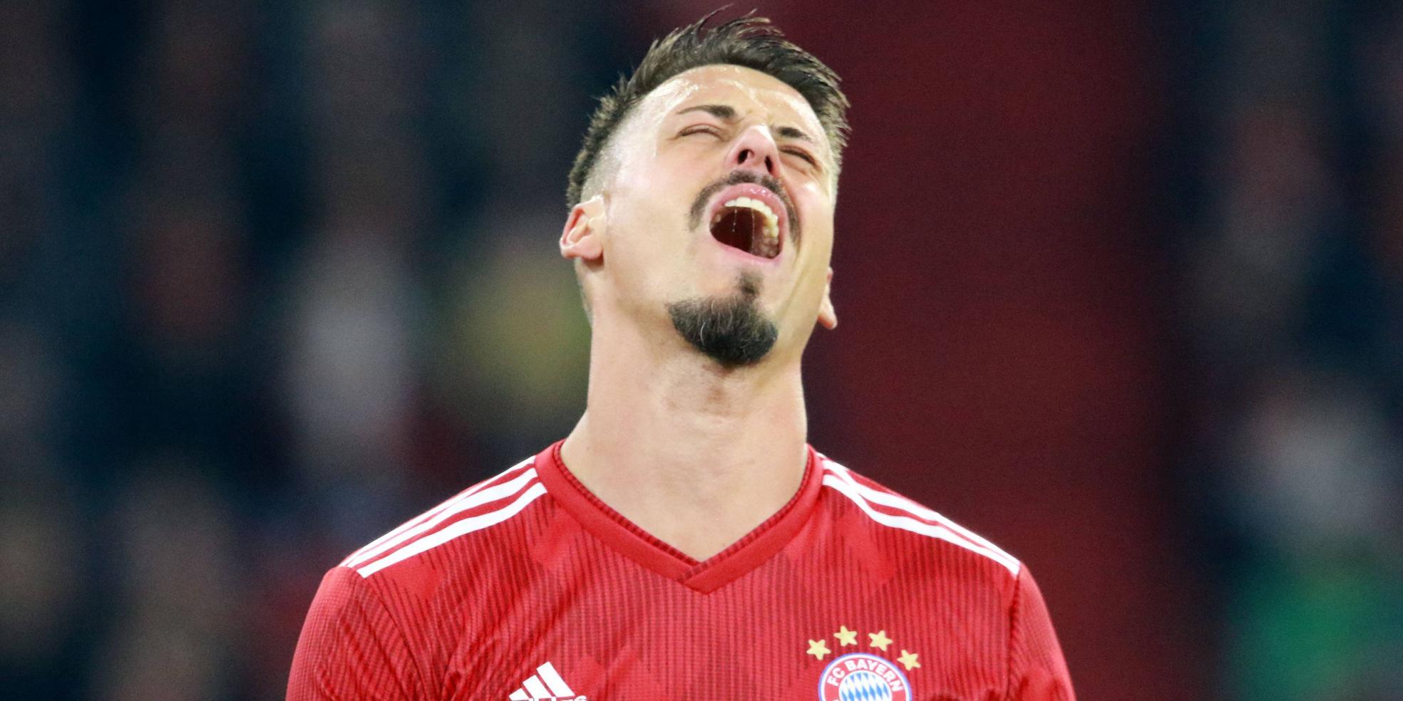 Sandro Wagner vom FC Bayern München