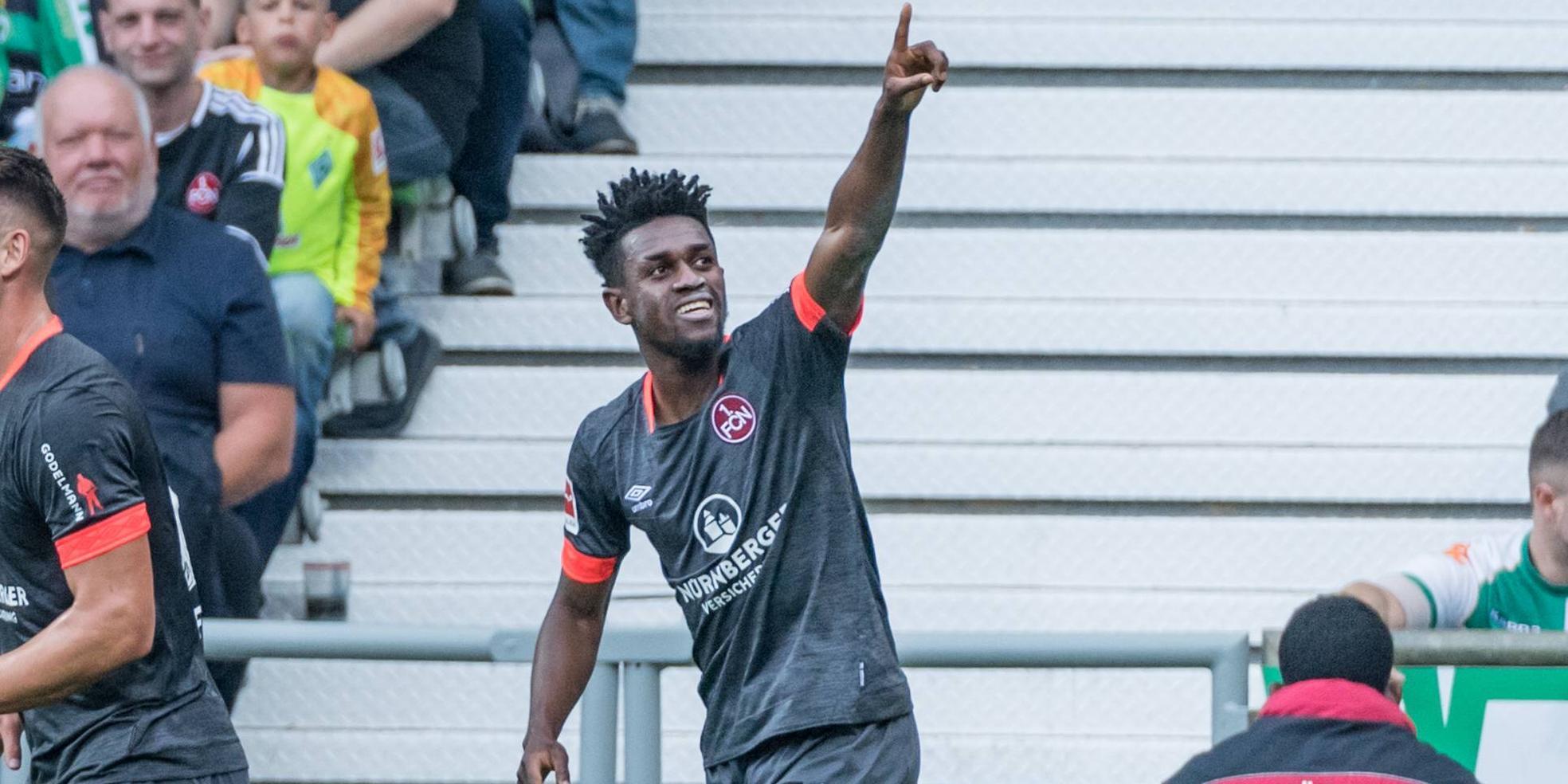 Virgil Misidjan - Vura - trifft für den 1. FC Nürnberg