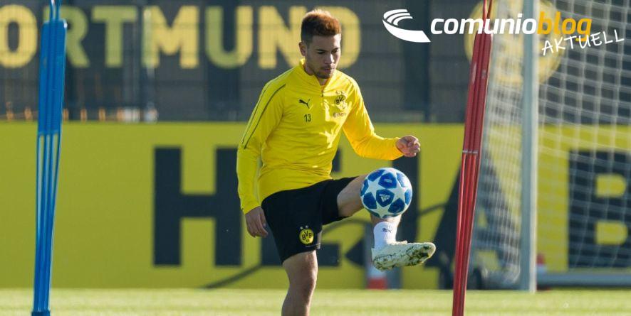 Raphael Guerreiro ist wieder im Training