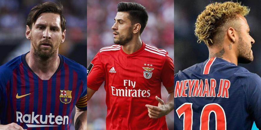 Messi, Pizzi, Neymar