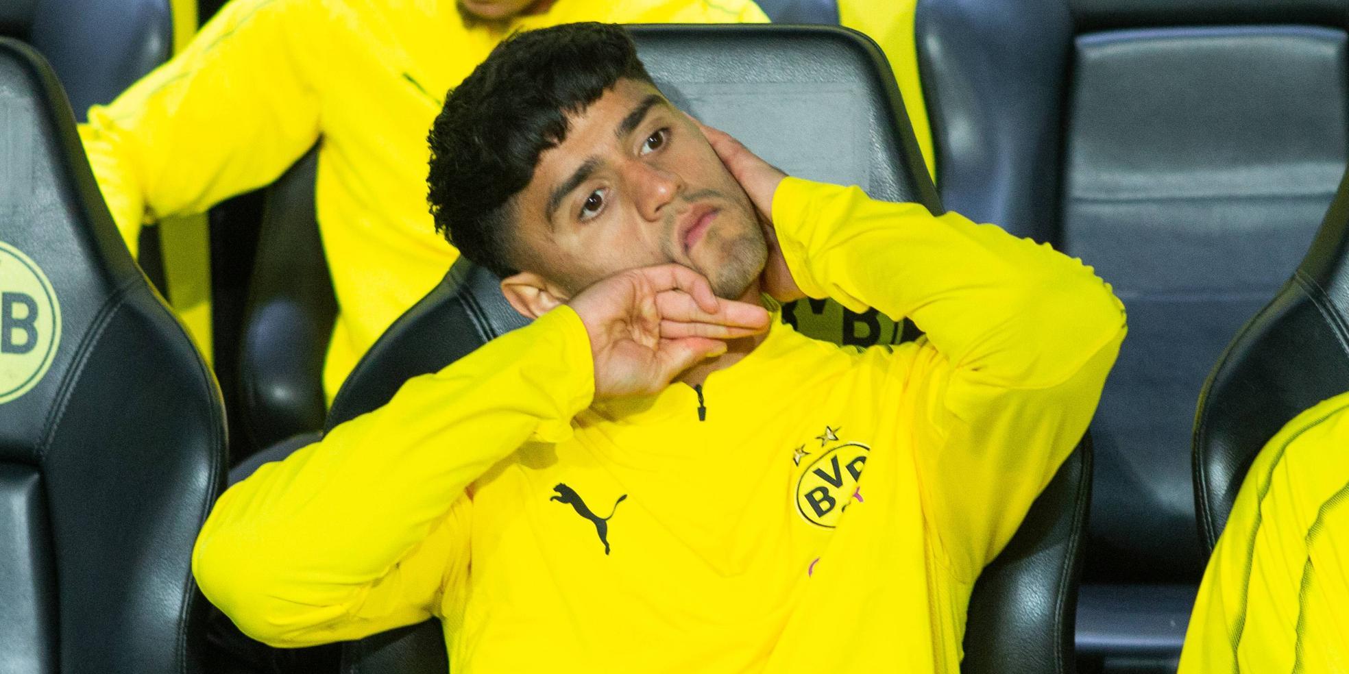 Mahmoud Dahoud ist beim BVB kein Stammspieler mehr