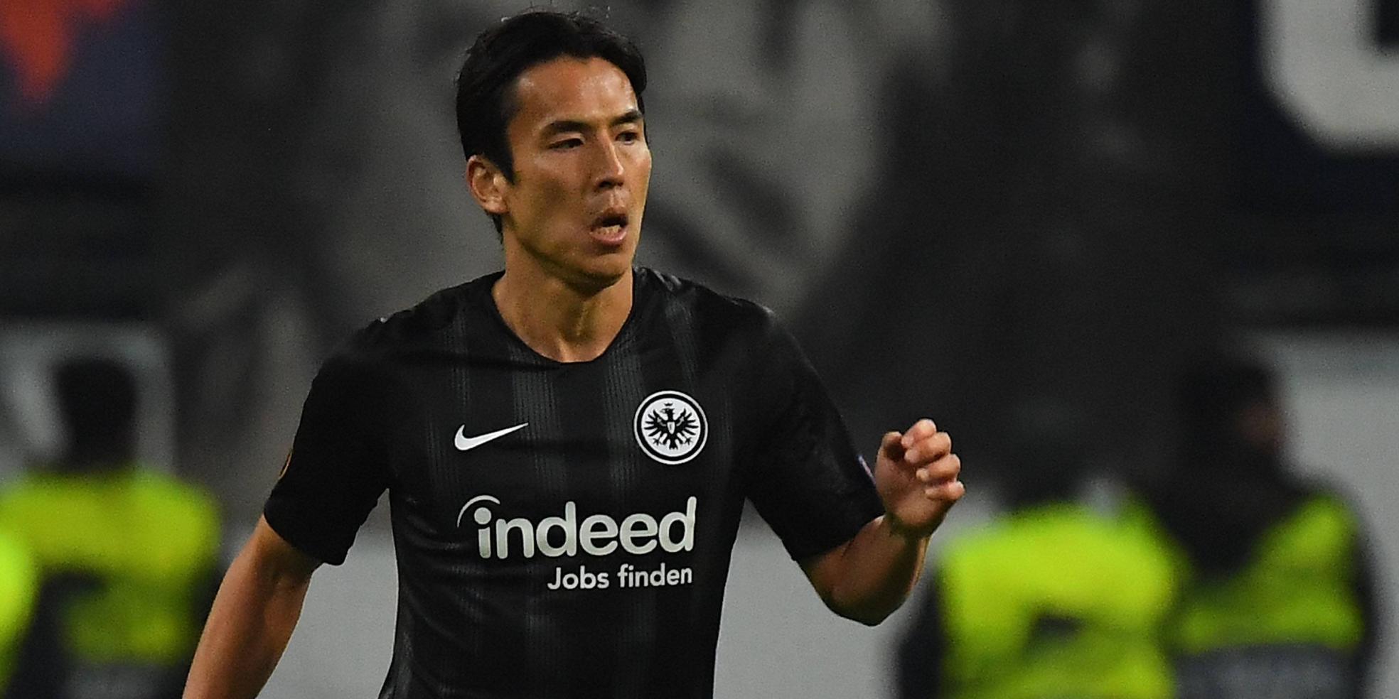 Makoto Hasebe von Eintracht Frankfurt
