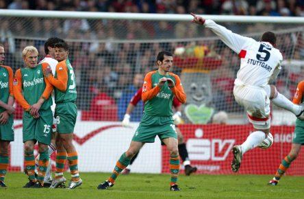 Marcelo Bordon schießt drei Tore gegen Bremen