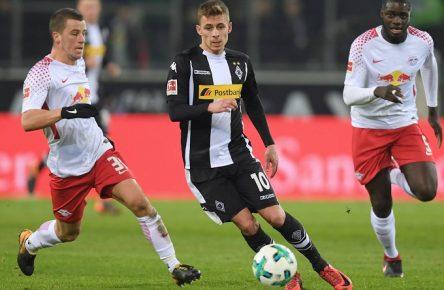 Gladbach Leipzig Thorgan Hazard Diego Demme Dayot Upamecano Bundesliga Comunio Manager Cropped(1)