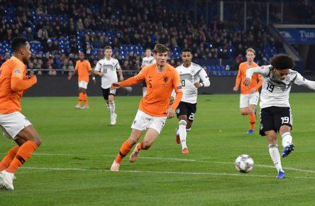 Deutschland gegen Holland, Sane trifft