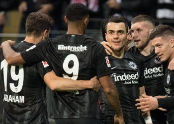 Eintracht Frankfurt: Sebastien Haller, Filip Kostic & Co. feiern