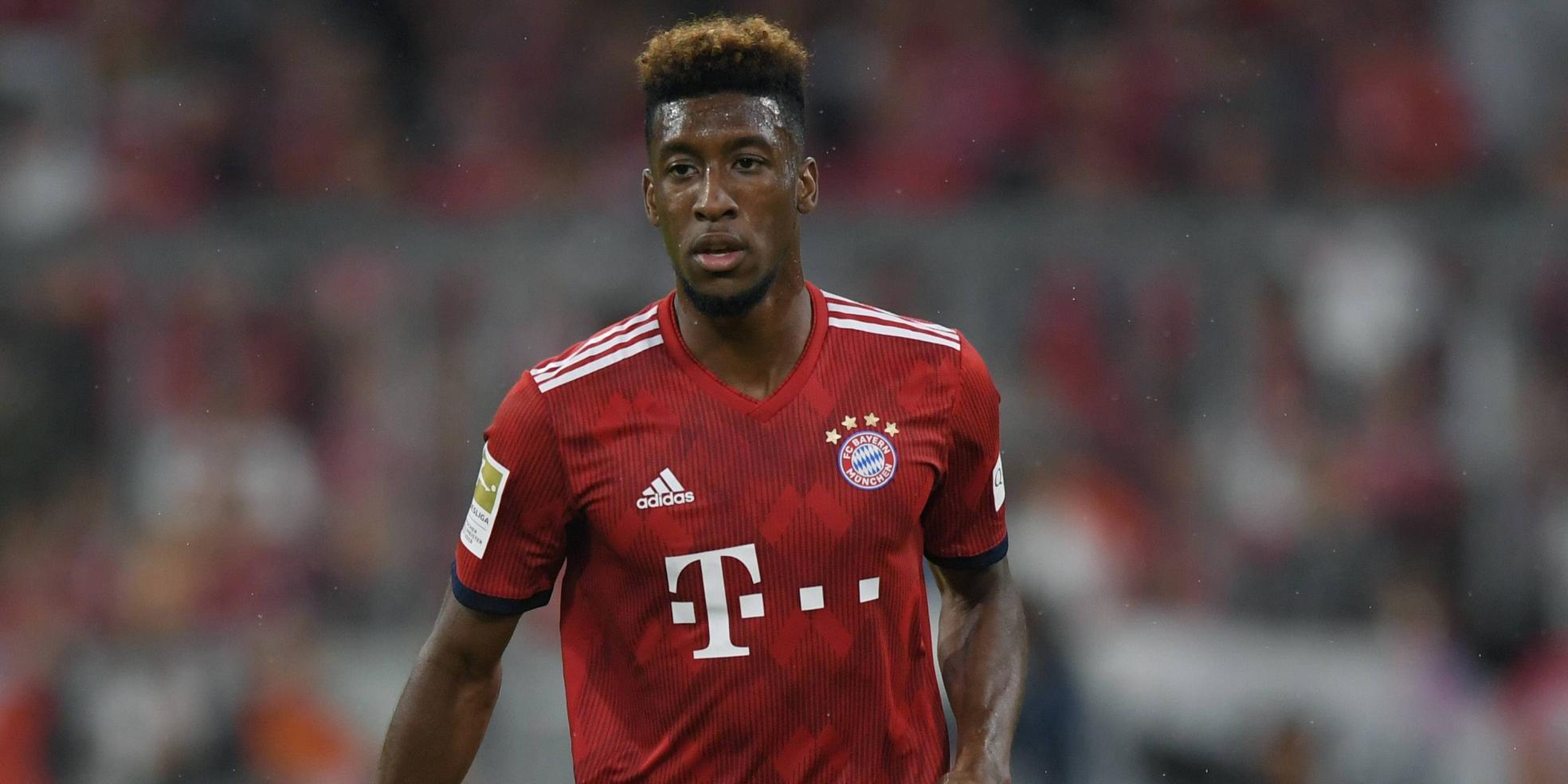 Kingsley Coman steht beim FC Bayern vor der Rückkehr