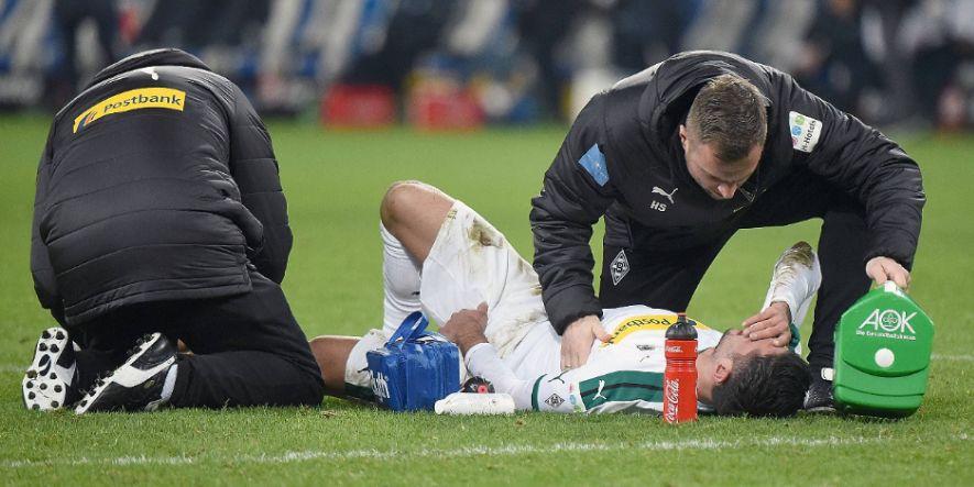 Viel zu tun hatte die medizinische Abteilung bei Borussia Mönchengladbach
