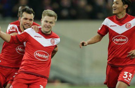 Jean Zimmer trifft für Fortuna Düsseldorf