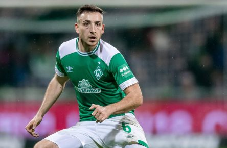 Kevin Möhwald vom SV Werder Bremen