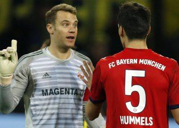 Manuel Neuer und Mats Hummels vom FC Bayern München