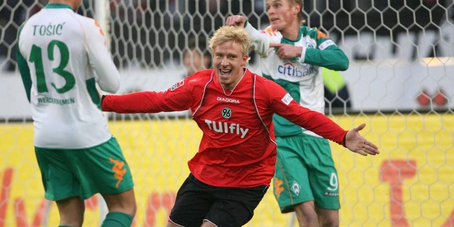 Comunio History: Mike Hanke traf damals gegen Werder dreifach.