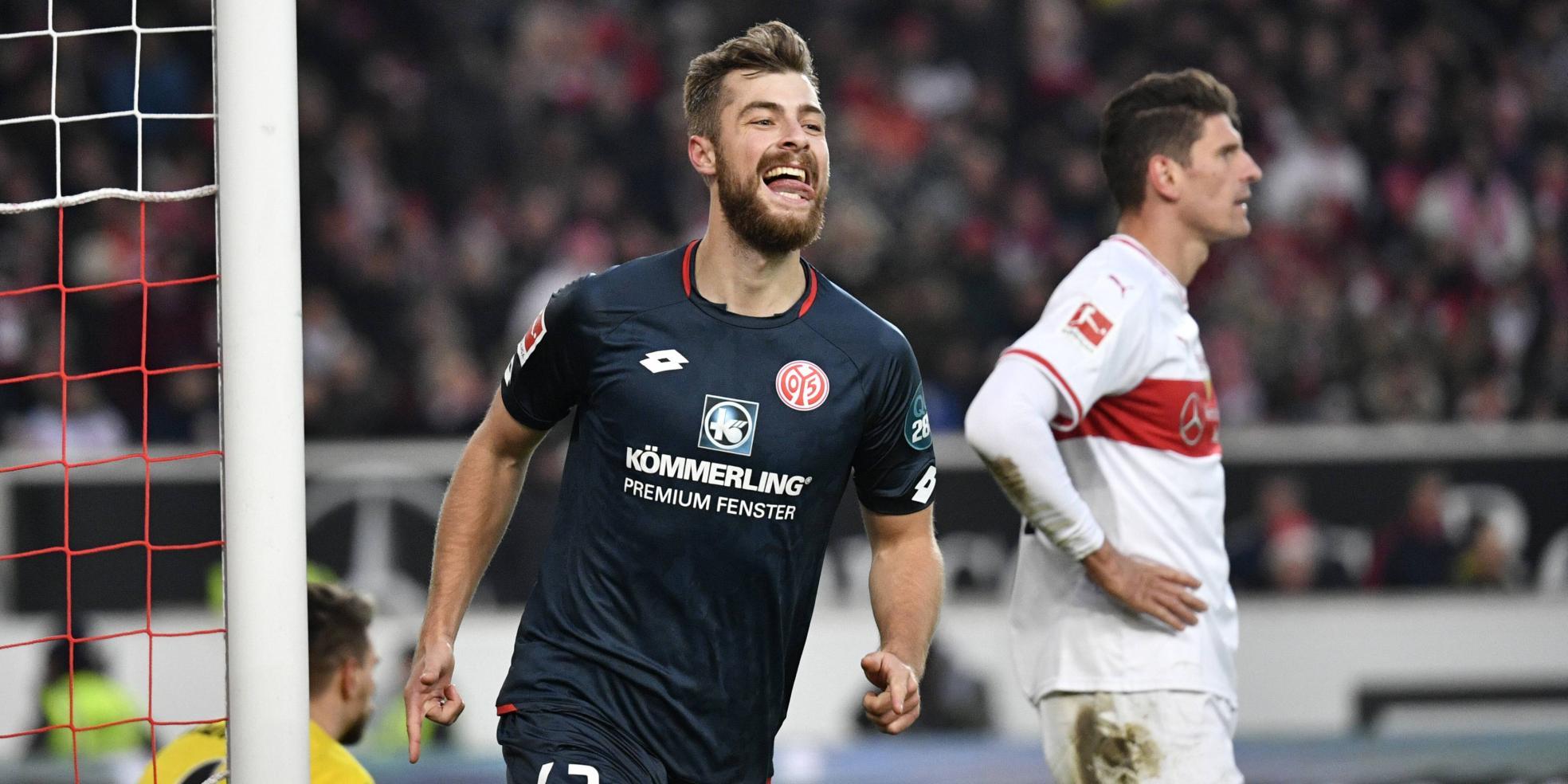 Alexander Hack trifft für den FSV Mainz 05
