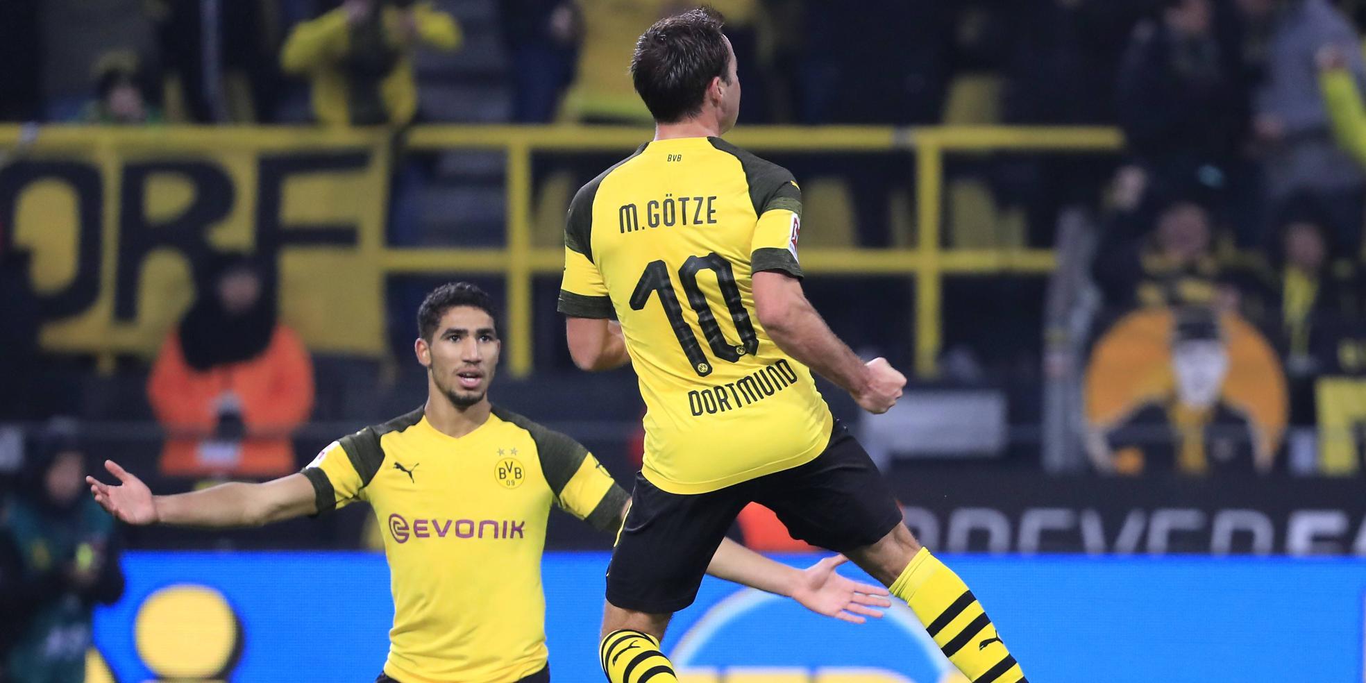 Mario Götze trifft gegen Hannover