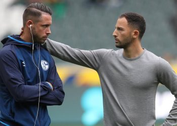 Mark Uth und Domenico Tedesco