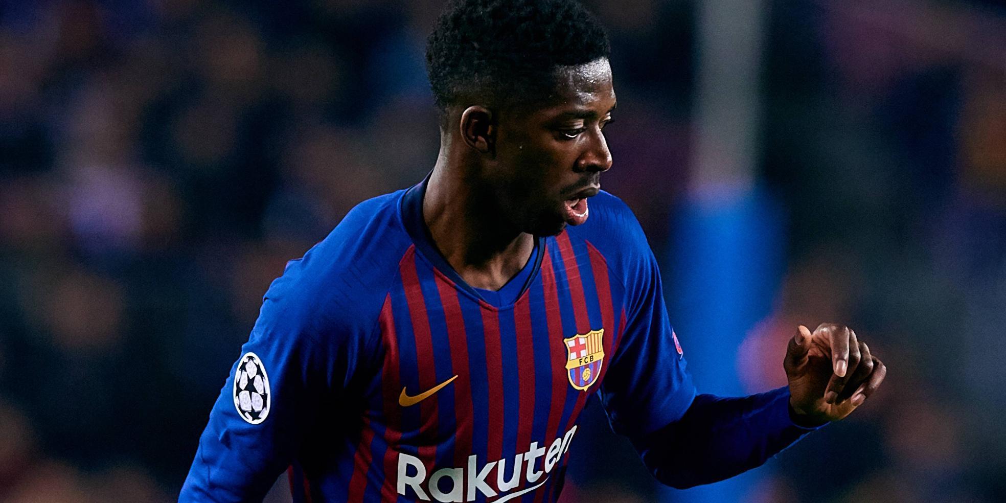 Ousmane Dembele vom FC Barcelona