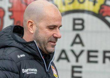 Peter Bosz von Bayer 04 Leverkusen