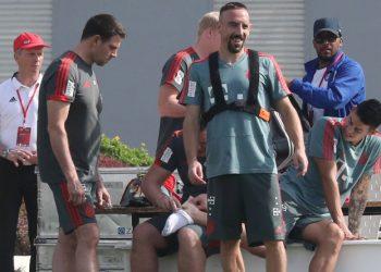 Franck Ribery schießt ab und an über das Ziel hinaus.