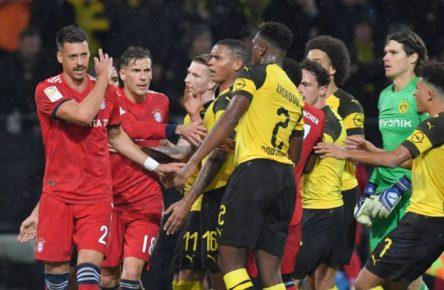In den nächsten Wochen nur im Fernduell: Bayern und der BVB