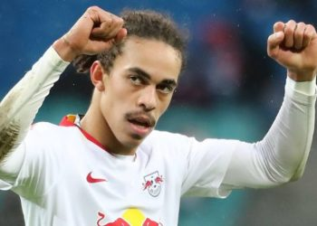 Traf gegen Galatasaray: Leipzigs Yussuf Poulsen