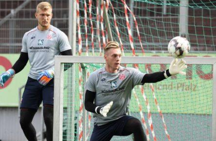Robin Zentner und Florian Müller: Wer steht für Mainz 05 zum Start im Tor?