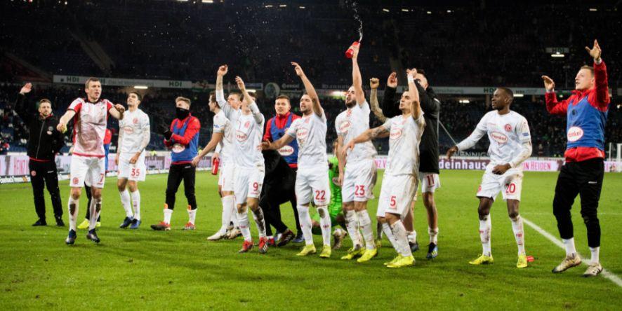 Dank eines großen Endspurts wieder voll dabei: Fortuna Düsseldorf