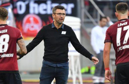 Die Personalie des Tages: Club-Trainer Michael Köllner