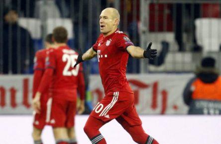 Die Jubelpause wird für Arjen Robben wohl in die Verlängerung gehen