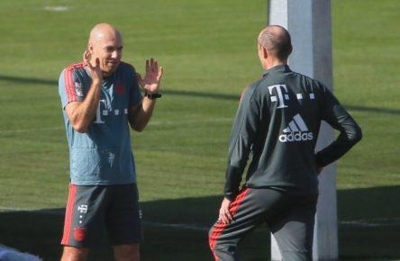 Ich bin so aufgeregt: Arjen Robben arbeitet auf seine Rückkehr hin