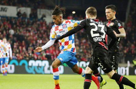 Youngster Leandro Barreiro Martins (Mainz 05) feierte gegen Bayer Leverkusen sein Bundesliga Debüt.