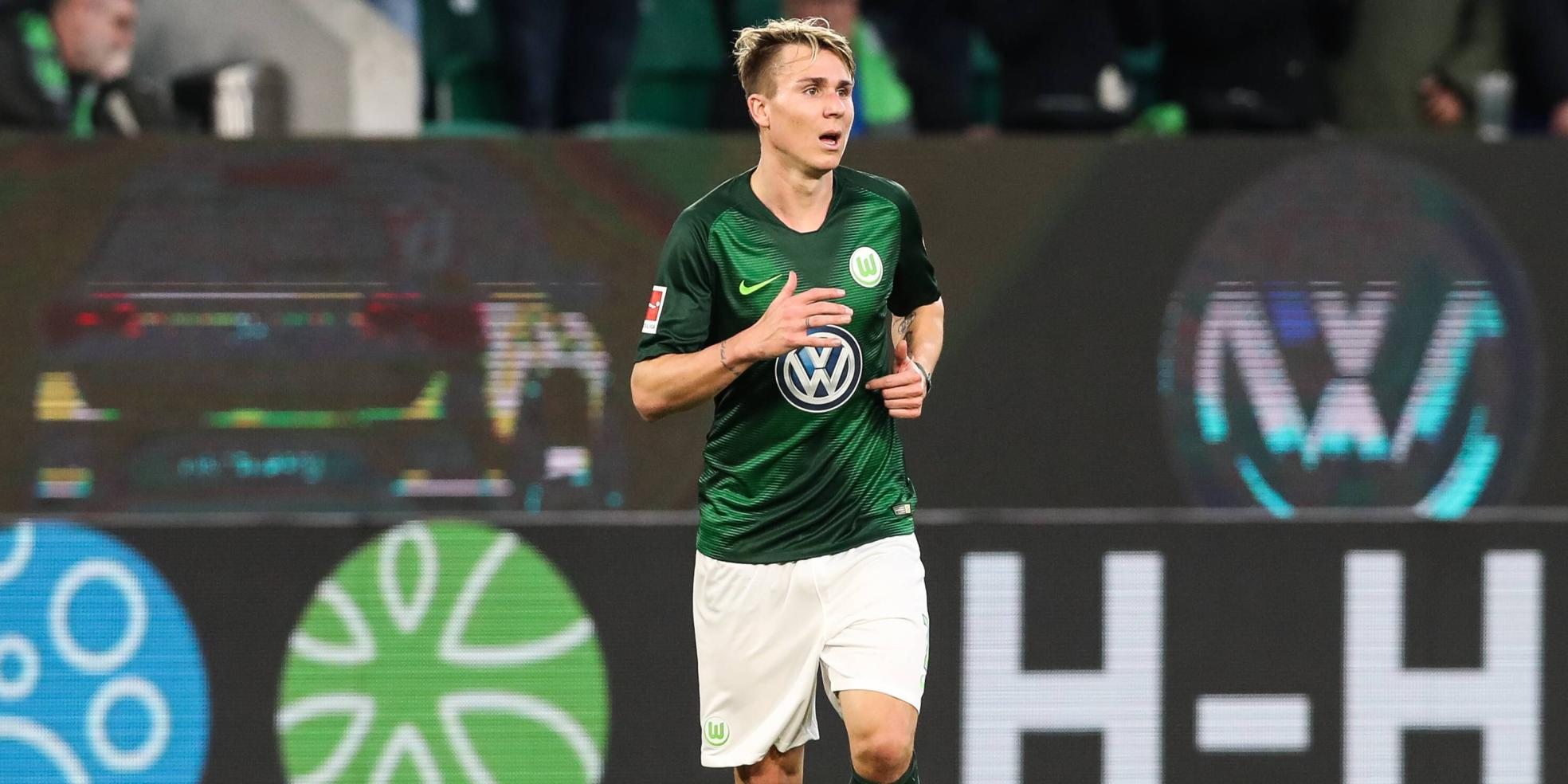 Felix Klaus vom VfL Wolfsburg