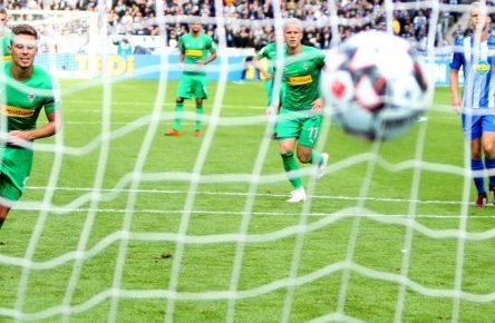 Thorgan Hazard trifft besonders gerne gegen Hertha BSC.
