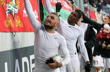 Konstantinos Stafylidis vom FC Augsburg
