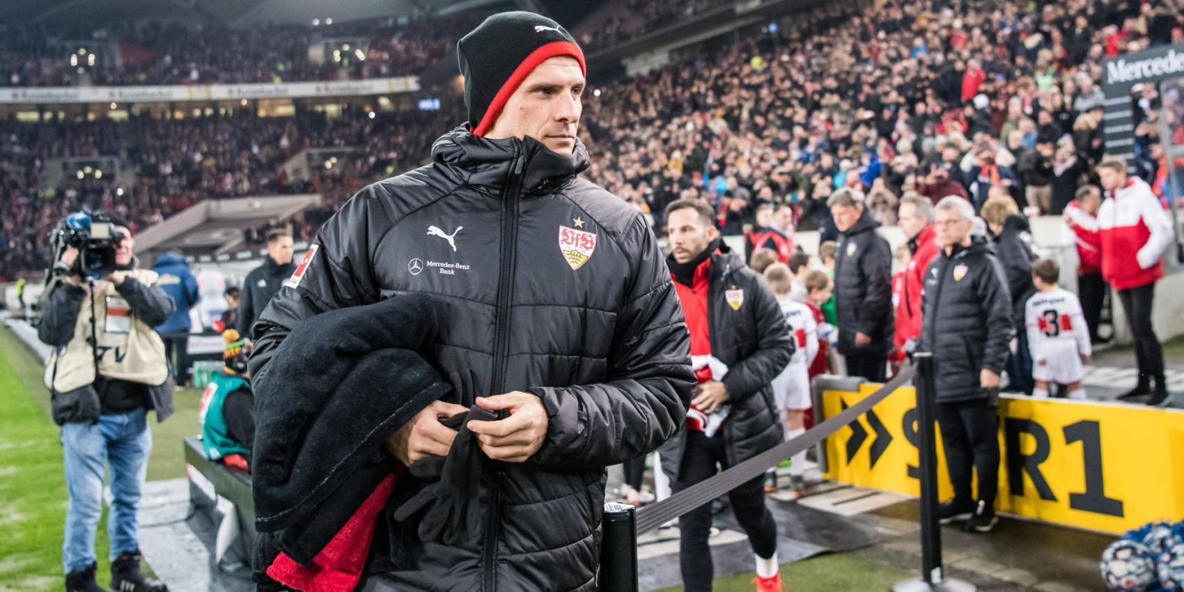 Mario Gomez ist beim VfB Stuttgart nicht mehr gesetzt