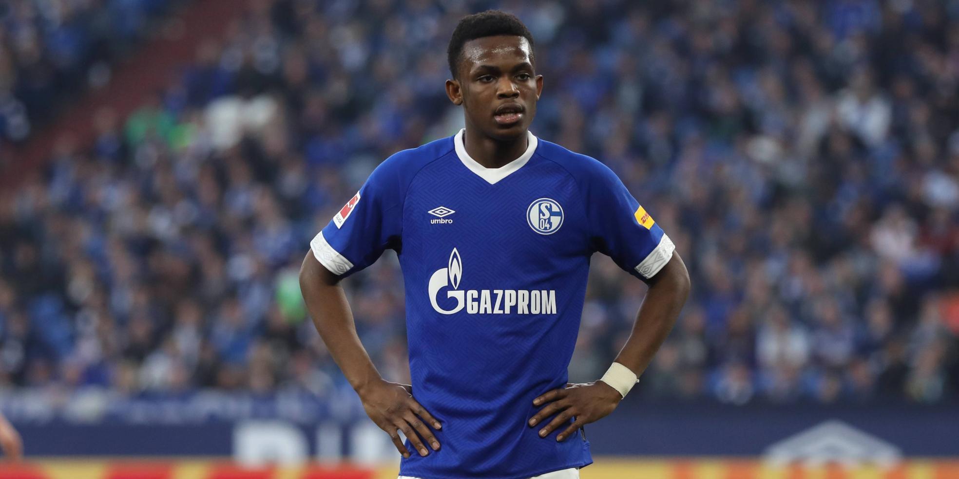 Rabbi Matondo vom FC Schalke 04