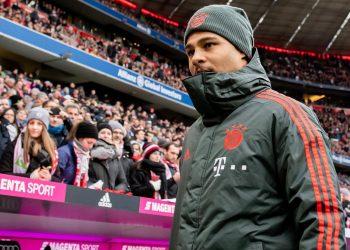 Serge Gnabry vom FC Bayern München