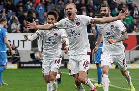 1. FC Nürnberg Hanno Behrens Bundesliga Comunio Cropped