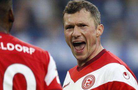 """Oliver Fink ist der """"Rentner"""" auf dem Feld bei Fortuna Düsseldorf"""