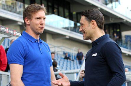 Nagelsmann und Kovac 2017, 1899 Hoffenheim Eintracht Frankfurt