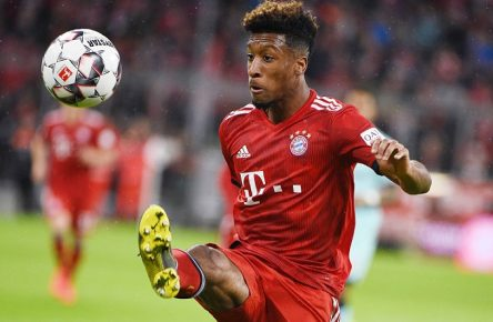Kingsley Coman (Bayern), MARCH 17, 2019 - Football / Soccer : Bundesliga match between FC Bayern Munchen 6-0 1. FSV Mainz 05 at Allianz Arena in Munchen, Germany. Noxthirdxpartyxsales PUBLICATIONxINxGERxSUIxAUTxHUNxONLY (99478822)