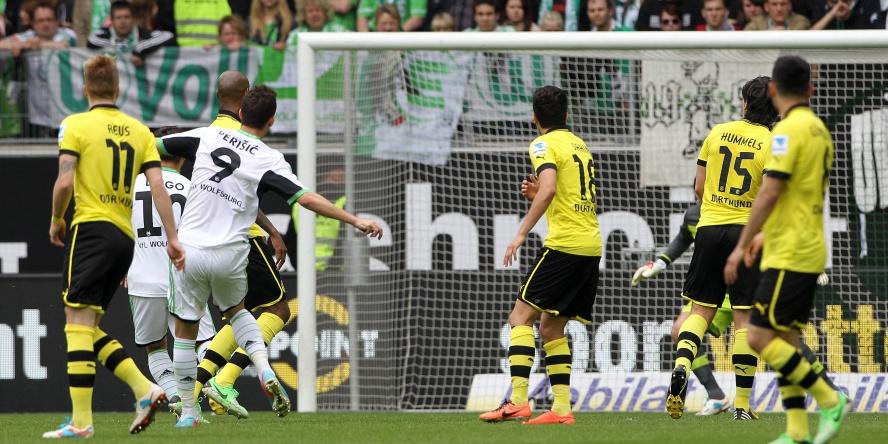 Ivan Perisic gelangen gegen dem BVB zwei Treffer.