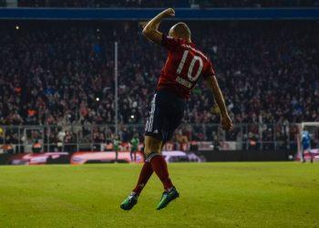 Arjen Robben hatte beim FC Bayern immer viel zu jubeln.