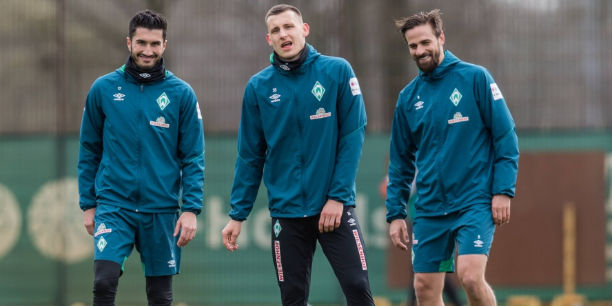 Werder-Profis sind sehr gut erzogen, wie man jetzt bei der Nationalelf gesehen hat.