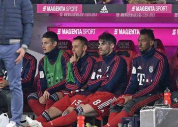 Jerome Boateng saß gegen den BVB 90 Minuten auf der Bank.