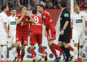 Der FC Bayern und der 1. FC Heidenheim lieferten sich ein irres Match.