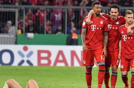 Zwischen Heidenheim und dem FC Bayern ging's richtig rund.